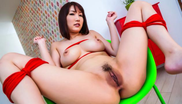 Warm Asian blowjob by busty Japanese Mikuni Maisaki - JavHD
