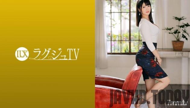 [259LUXU-1235] Luxury TV 1222 A female owner with an elegant beauty makes an AV appearance! There is