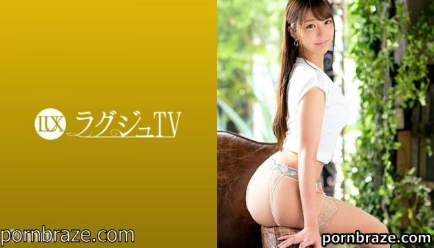 Luxury TV 259LUXU-1333 Luxury TV 1326 Its appearance is just a goddess! Nozomi Makita, a hotel front